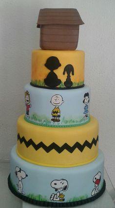 Bolo Snoopy