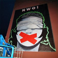 What is in store for us all when the New World Order boys and their brainwashed functionaries swing into action. New World Order, Murals, Irish, Action, Store, Gallery, Boys, Baby Boys, Group Action