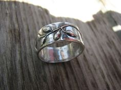 PMC Fine Silver Trailing Vine Ring by kvossdesigns on Etsy, $52.00