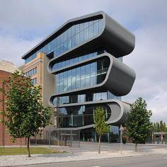 5osA: [오사] :: * 징크 커브볼륨 오피스 [ Conix Architects ] Umicore Hoboken