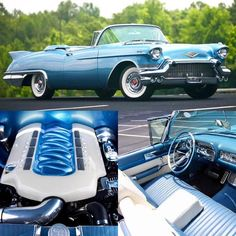"u-musclecars: "" 1957 Cadillac Eldorado Biarritz LS3 ——————————- #hotrod #v8 #musclecar #cadillac #eldorado #biarritz #convertible #chevy #ford #mopar #pontiac #mercury #dodge #plymouth #camaro #chevelle #corvette #mustang #torino #charger #challenger..."