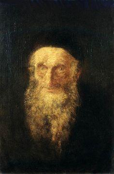Mednyanszky, Laszlo - Old Rabbi (Janus Pannonius Museum, Pecs, Hungary) New York Galleries, Austro Hungarian, Rabbi, Jewish Art, Pretty Black, Beautiful Soul, Art World, Impressionism, Oil On Canvas