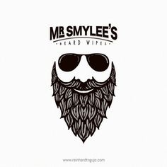 Resultado de imagem para beard logo design