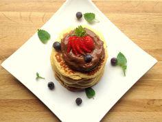 Proteinrike pannekaker med sjokado - lindastuhaug