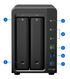 DiskStation DS718+ | Synology Inc.