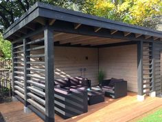 Pergola For Small Backyard Diy Pergola, Pergola Swing, Backyard Sheds, Backyard Patio Designs, Outdoor Pergola, Backyard Pergola, Pergola Shade, Patio Roof, Pergola Designs