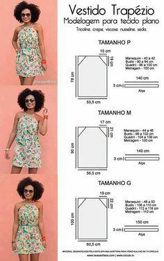 New sewing clothes diy dress free pattern ideas Dress Sewing Patterns, Sewing Patterns Free, Clothing Patterns, Free Pattern, Pattern Ideas, Easy Dress Pattern, Pillowcase Dress Pattern, Fashion Sewing, Diy Fashion