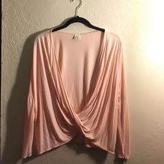 Open front long sleeve size small Very loose fitting Tops Blouses