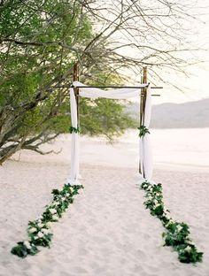 45 Beach Wedding Aisle Decor Ideas | HappyWedd.com