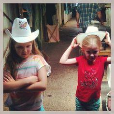 Cowgirls. Country girls. My girls