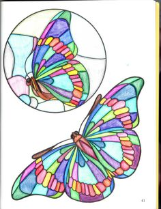 Margo Murphy (18+ division) from Birds and Butterflies Stained Glass Pattern Book: http://store.doverpublications.com/0486246205.html