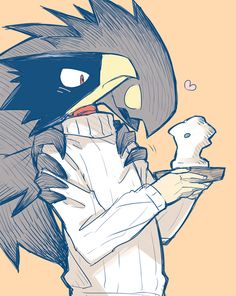 Image result for tokoyami fumikage fanfiction
