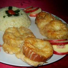 Egy finom Alma és sajt alatt sült csirkemell ebédre vagy vacsorára? Alma és sajt alatt sült csirkemell Receptek a Mindmegette.hu Recept gyűjteményében!