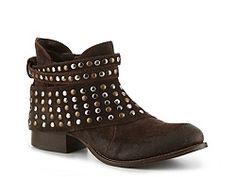 Matisse Sparks Western Bootie leather brown 1.5h sz7.5 139.95