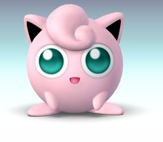 that is a good picture of jigglypuff I wish I could unlock her on super smash bros brawl well at least I have kirby. Pokemon Jigglypuff, Pokemon Dex, Pikachu, Pokemon Games, Cute Pokemon, Jigglypuff Costume, Super Smash Bros Brawl, Posca, Nintendo Characters