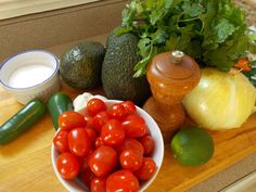 The start of a great smoked salsa and avocado burger #recipe #burger #hamburger  #vegetables