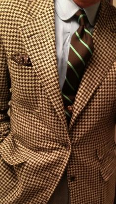 A #suit with a bold pattern and color pallet. #MenFashion #MensStyle