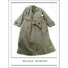 DRIZZLE WATERPROOF ZIP IN LINING RAIN COAT DRIZZLE WATERPROOF TRENCH RAIN COAT It's getting to be that time of year where you'll need a raincoat! This is 100% waterproof with zip in lining 35% Cotton 65% Polyester Side pockets, belted Waist , hidden button front Size 4P DRIZZLE Jackets & Coats Trench Coats