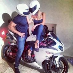 love, moto, and couple Bild