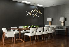 Image de black, breakfast, and dining room, kitchen