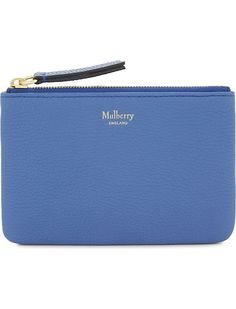 MULBERRY - Grained leather coin pouch   Selfridges.com