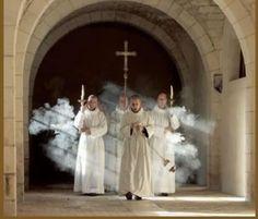 Procession Monastique~Abbaye Notre Dame de Fontgombault.France