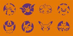 Carve With Pokémon Pumpkin Stencils This Halloween | Nintendo News