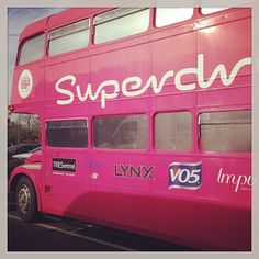 Cool superdrug bus!