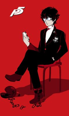 Persona 5 Protagonist. Cosplaying this soon!