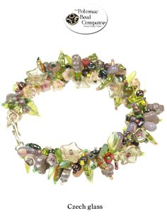 With all the new Czech glass in Potomac Bead Company stores, this is an awesome design idea!