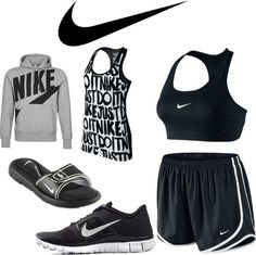 """Nike Workout""...14 more pounds and I'm buying some new workout clothes"