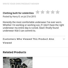 Thank you for the 5 Star feedback! Shop today so you can #MakeAnImpression www.bulgeclothing.com