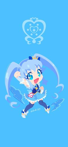 Glitter Force, Pretty Cure, Magical Girl, Sailor Moon, Chibi, Shoujo, The Cure, Cartoon, Disney Princess