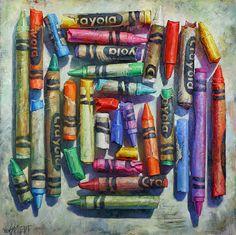 Gordon Smedt | OIL | Color Maze Kunst Inspo, Art Inspo, Kunst Portfolio, Nostalgia Art, Gcse Art Sketchbook, Ap Studio Art, A Level Art, School Art Projects, Crayon Art