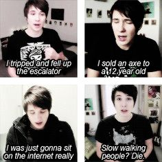 Reasons why Dan's a fail (yay)