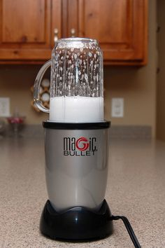 clean your blender...after using, add warm water and a bit of dish soap (not too much or you will have cartoon sized suds!)...run the blender .... rinse out well....smart!