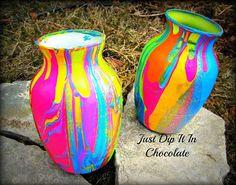 Капельный декор ваз