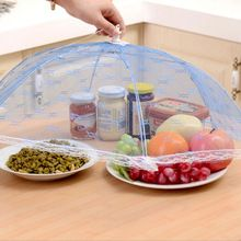 Collapsible Food Covers Umbrella Style Anti Fly Mosquito Kitchen gadget cooking…