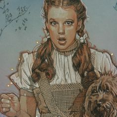 Ah, the Wonderful Wizard of Oz. This original work of art was created to illustrate a book about the film as attested to by the actual Coroner of Munchkinland. ~Drew Struzan