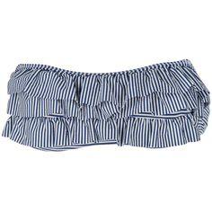 Jessica Simpson Juniors Seersucker Stripe Convertible Bandeau #VonMaur