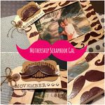 Mothership Scrapbook Gal: DIY Stamp Embossed Wood Frame for Movember - Mustache Creativity! Movember Mustache, Mustache Birthday, Emboss, Diy Tutorial, Fathers Day, Art Projects, Creativity, Stamp, Scrapbook