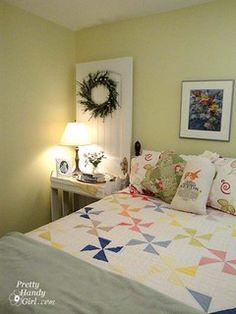Eclectic Feminine Guest Bedroom