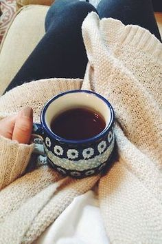 a cozy and lazy morning