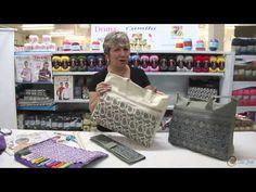 Vitória Quintal no Armarinho São José - Porta agulhas e bolsa Cisne - YouTube