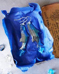 DIY Earrings Made From Fishing Lures! -- Sweet Paul presents Lova's World