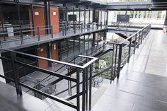 Edificio de posgrado.