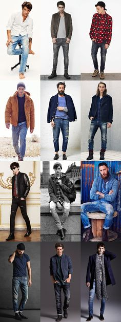 Toughen Up: The 2015 Style Rules For Men: Opt For Workshop-Appropriate Denim lookbook #mensfashion | Raddest Fashion Looks On The Internet