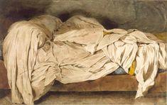 Eugene Delacroix: Un lit defait