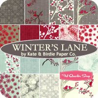 Winter's Lane Fat Quarter Bundle Kate & Birdie Paper Co. for Moda Fabrics - Fat Quarter Shop