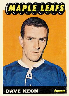 My favorite player from my favorite team from my favorite hockey card set --- Topps 1965 Hockey Teams, Ice Hockey, Hockey Cards, Baseball Cards, Player Card, O Canada, Sports Figures, Toronto Blue Jays, Toronto Maple Leafs